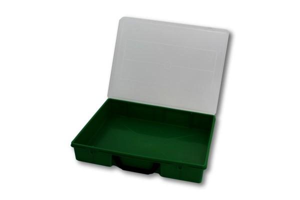 Sortierbox 365x290x65 grün ohne Inneneinteilung