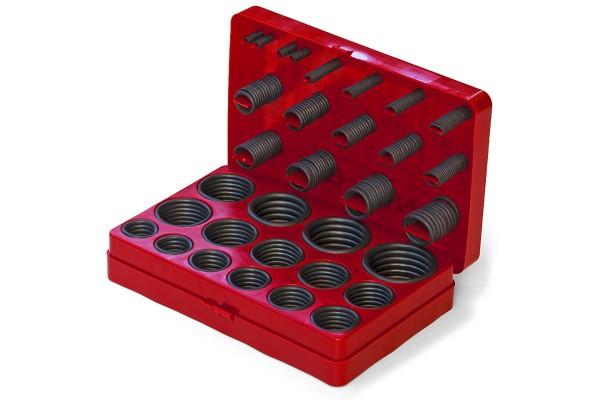 O-Ring Box / Sortiment NBR 70 382 Stück - 30 Größen Inch - nach amerikanischem bzw. britischem Stand